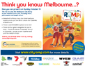 Melbourne City Romp Advertentie
